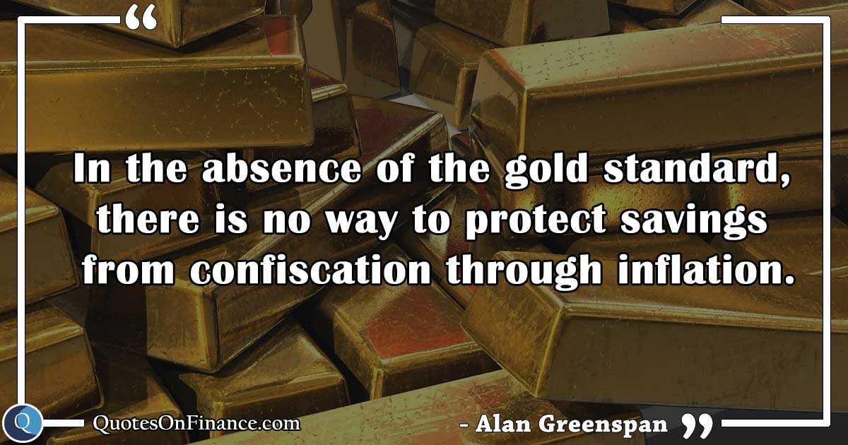 Protect savings confiscation through inflation